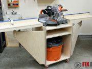 Mobile Miter Saw Station : Part 1