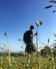 Not all those who wander are lost. J.R.R. Tolkien  #hiking #hikingadventures #kilt #tactikilt #dutykilt #bladearmour #prostaff #modernviking #backpacking #hikinglikevikings #hills #panorama #tolkenian