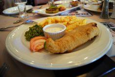 fish and chips @ le brunch 2012  http://eatahfood.blogspot.com/2012/05/le-return-of-le-brunch.html