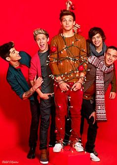 Okay imagine getting your house ready for Christmas with these 5 idiots!! It would be a little annoying sometimes cuz they won't listen and just like the pic they can't stay focused for two s