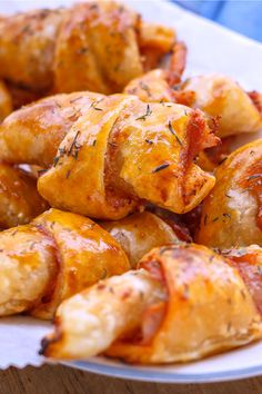 These pizza roll ups come together so easily and are loved by all!