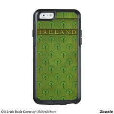 Old Irish Book Cover OtterBox iPhone 6/6s Case