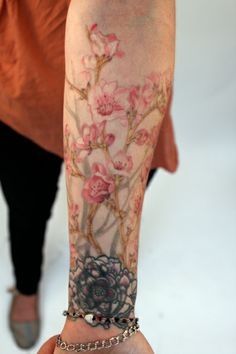 THEA DUSKIN of Ghostprint Gallery in Richmond, VA - these blossoms are so delicate and beautiful