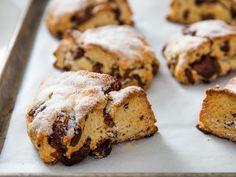 Bakery-Style Cream Scones With Milk Chocolate