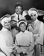 The Flying Nun is an American sitcom  It starred Sally Field as Sister Bertrille. The series originally ran on ABC from September 7, 1967, to September 18, 1970,