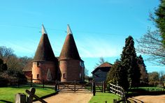 Oast Houses — Kent, United Kingdom  8 Quirky Houses Around the World - Wild Junket