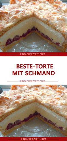 Best cake with sour cream 😍 😍 😍 - Zimtschnecken rezept - Dessert Easy Cake Recipes, Snack Recipes, Snacks, Diy Dessert, Dessert Blog, Sour Cream Cake, Flaky Pastry, Mince Pies, Pumpkin Spice Cupcakes