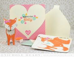 Stay Foxy Ensemble by Nichole Heady for Papertrey Ink (December 2014)