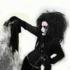 Nice mystical and dark feeling to this #Goth girl pic