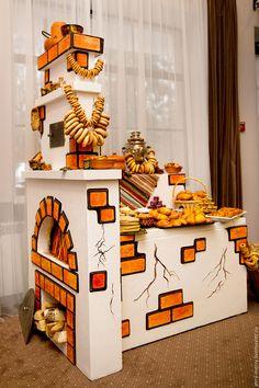 Купить Русская печь, Печка - кенди бар, декорации в аренду - русская печь, печка