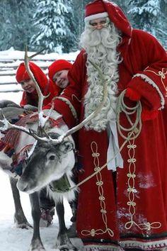 Santa Claus.. Rovaniemi, Finland
