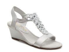 Got Glass Wedge Sandal