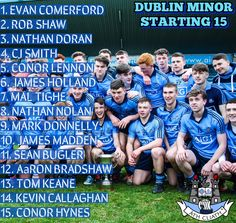 We Are Dublin PADDY CHRISTIE NAMES HIS DUBLIN MINOR STARTING 15 FOR LEINSTER CHAMPIONSHIP OPENER AGAINST OFFALY - We Are Dublin