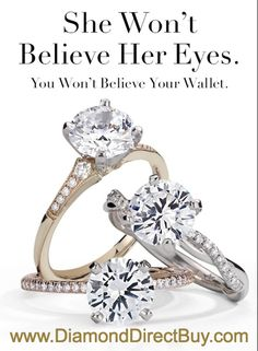 Global Diamonds Direct to Public at DiamondDirectBuy.com Any Shape -Size and Style you can dream off at Prices you will not believe. Contact Us TODAY