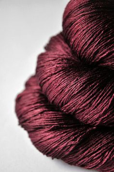 Fallen dark soul  Silk Yarn Lace weight by DyeForYarn on Etsy, €27.00