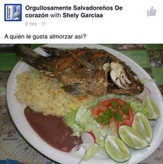 Comida Salvadoreña!