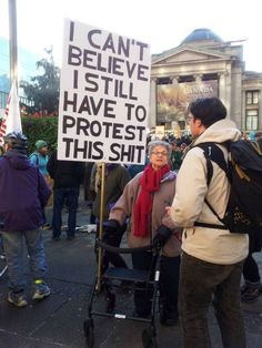 57 Funny Protest Signs That Shows The Power Of Words Climate change protest signs, Protest Posters, Protest Signs, Protest Art, Trump Protest, Vancouver, Memes Humor, Funny Memes, Funny Quotes, Funny Facts