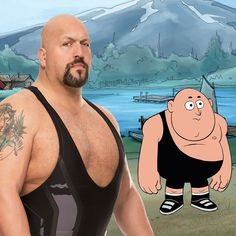 Welllllll, it's the Big Show and he's on his way to #CampWWE!