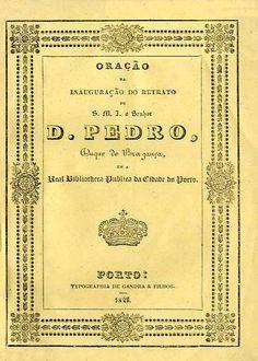 ORAÇAO NA INAUGURAÇAO DO RETRATO DE SUA MAGESTADE IMPERIAL O SENHOR DOM PEDRO - GANDRA (Joao Nogueira)