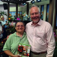 """Another Lucky """"Fun with Flowers"""" winner at the Epcot Flower and Garden Festival..."""