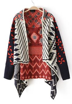 Beautiful Print Sweater