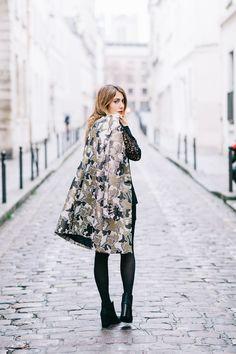 Look - Manteau Tara Jarmon