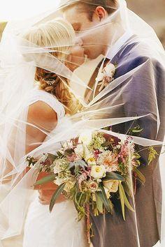 Most Creative Wedding Kiss Photos ❤ See more: http://www.weddingforward.com/10-most-creative-wedding-kiss-photos/ #weddings