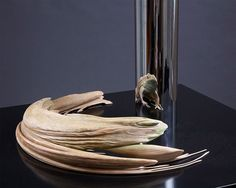 The Skewed, Anamorphic Sculptures and Engineered Illusions of Jonty Hurwitz