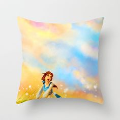 This Provincial Life Throw Pillow by Alice X. Zhang - $20.00