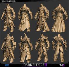 새콩닷컴 :: [scrap]The Character Art of Darksiders II