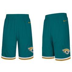 Nike NFL Jacksonville Jaguars Blue Shorts 8fe78cad9