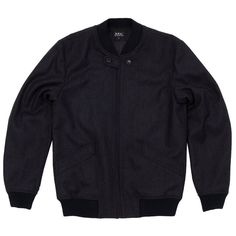 APC Charcoal Bomber Jacket