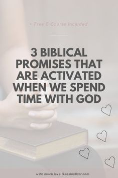 3 Biblical promises that are activated when we spend time with God Cast All Your Cares, Walk In The Spirit, Come Unto Me, Presence Of The Lord, Kids Schedule, Bible Promises, Sisters In Christ, Gods Glory, Seeking God