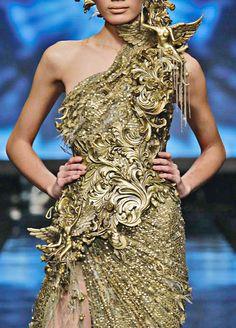 "Tex Saverio, Jakarta Fashion Week 2012 ""Midas Collection"" | Keep the Glamour | BeStayBeautiful"