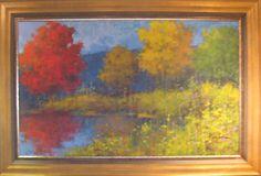 Framed Koehn at Lewis Art Gallery - SOLD