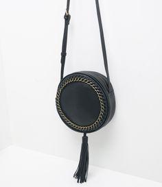 bolsa redonda com tresse