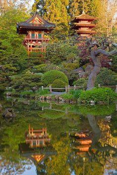 Japanese Tea Garden... São Francisco.
