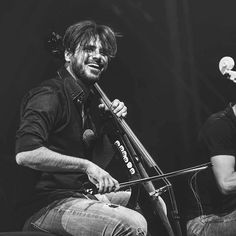 "85 Likes, 1 Comments - 2Cellos UK Fans (@2cellos_uk) on Instagram: ""It's #worldsmileday and what great smiles these are  #2cellos #stjepanhauser #lukasulic…"""