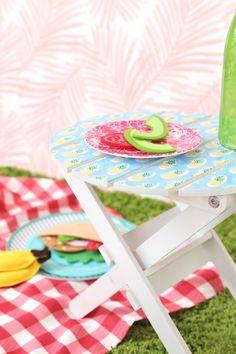 IKEA Hack Mini Picnic Table | damask love