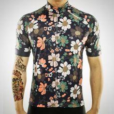 3e31dd20b Racmmer Pro Cycling Floral Jersey - short sleeve - Men s. Cycling  GearCycling JerseysCycling OutfitBicycle JerseysCycling ClothesLycra ...
