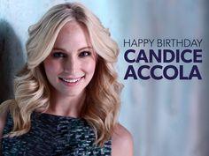 Happy Birthday to Mystic Falls' favorite blondie, Candice Accola! #TVD