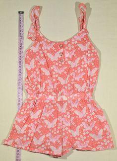 590 Ft.    Ruha - rózsaszín, lepkés overál (girl2girl) Lany, Tank Tops, Women, Fashion, Halter Tops, Moda, Women's, La Mode, Fasion