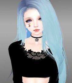 Browsing Art on DeviantArt Imvu, Second Life Avatar, Virtual Girl, Gothic Anime, Jungkook Fanart, Digital Art Girl, Cute Icons, Manga Girl, Girl Model