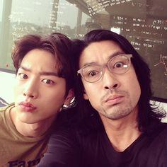 Seo Kang Joon and Shin Sung Woo