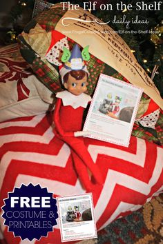 FREE Elf on the Shelf Costumes plus FREE Elf on the Shelf Printable Notes. Challenge your child to building a fort with this fun Elf on the Shelf Activity. Dozens of Easy and Creative Elf on the Shelf Ideas on Frugal Coupon Living.