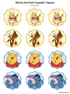 Winnie the Pooh and Friends Printables | Disney's World of Wonders