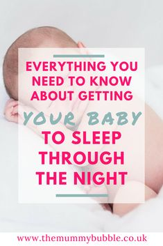 Trying to get your baby to sleep through the night? Here are lots of practical steps for helping your baby sleep through the night