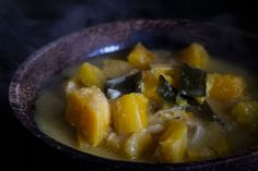 winter Squash Stew with Kelp - From the Clean Blog