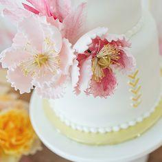 Peony Birthday Cake | Wedding & Party Ideas | 100 Layer Cake