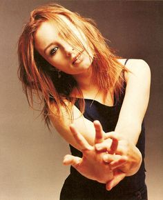 Tori Amos - Her music got me some through rough points in my life!